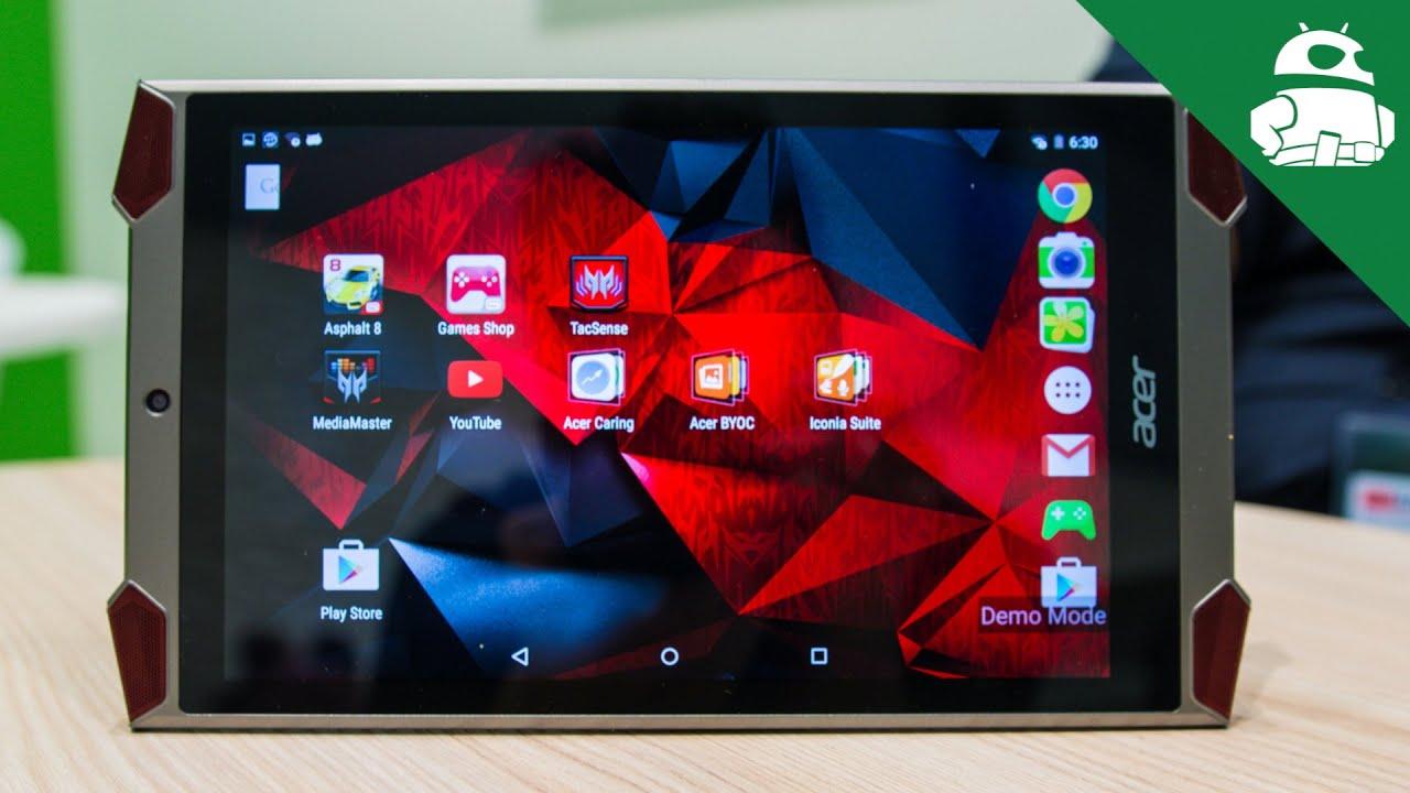 Acer Predator 8 Tablet First Look