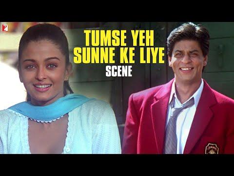 Scene: Mohabbatein | Tumse Yeh Sunne Ke Liye | Amitabh Bachchan | Shah Rukh Khan | Aishwarya Rai