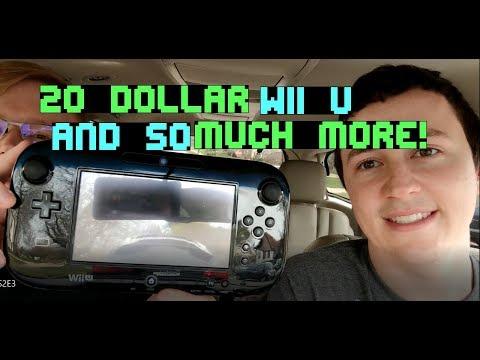 Live Garage Sale Finds! Xbox 360, Wii games, Vintage Apple Computer & More! Season 2 Episode 3!
