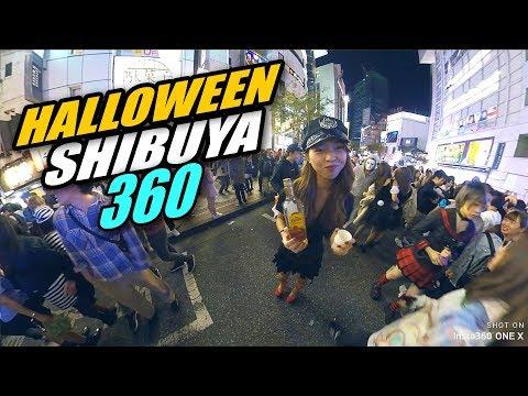 HALLOWEEN SHIBUYA 2018 TOKYO JAPAN   INSTA360 ONE X