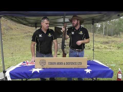 Uzkon LA887 Lever Action Shotgun - Shooting Stuff Australia