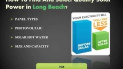 Best Solar Installers and Solar Companies in Long Beach