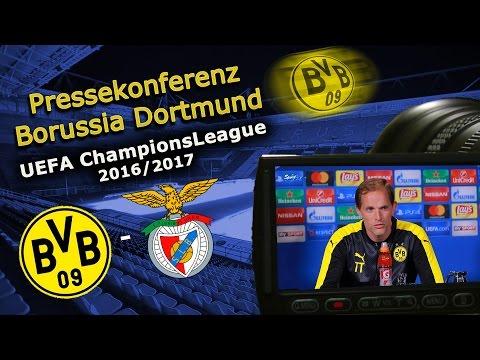 Borussia Dortmund - Benfica Lissabon: Pk mit Gonzalo Castro und Thomas Tuchel