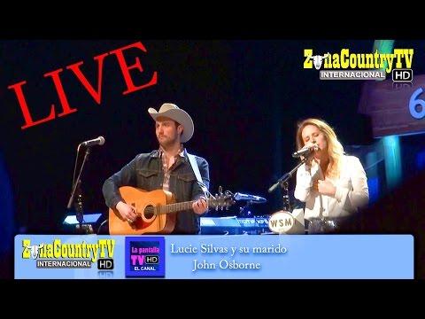Lucie Silvas y John Osborne - G.O.O. - Nashville