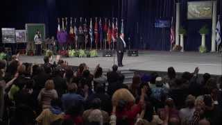 Watch this special Healing Service as I minister at the 2014 World Conference!