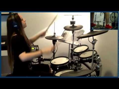 Morbid Angel - Immortal Rites (drum cover by Tamara)