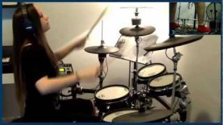 Morbid Angel - Immortal Rites (drum cover by Tamara)