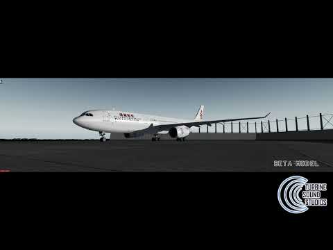 Aerosoft A330 Turbine Sound Studios Video Demonstration Released