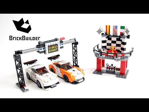 Lego Speed Champions 75912 Porsche 911 GT Finish Line - Lego Speed build