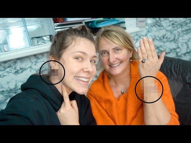 5 neue Tattoos stechen MIT MAMA | Fingertattoos