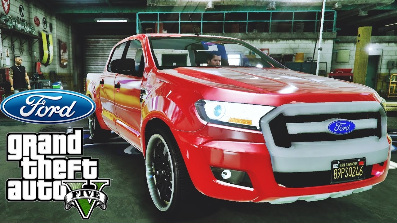 ford ranger 2017 tuning gta v redux extreme graphics. Black Bedroom Furniture Sets. Home Design Ideas