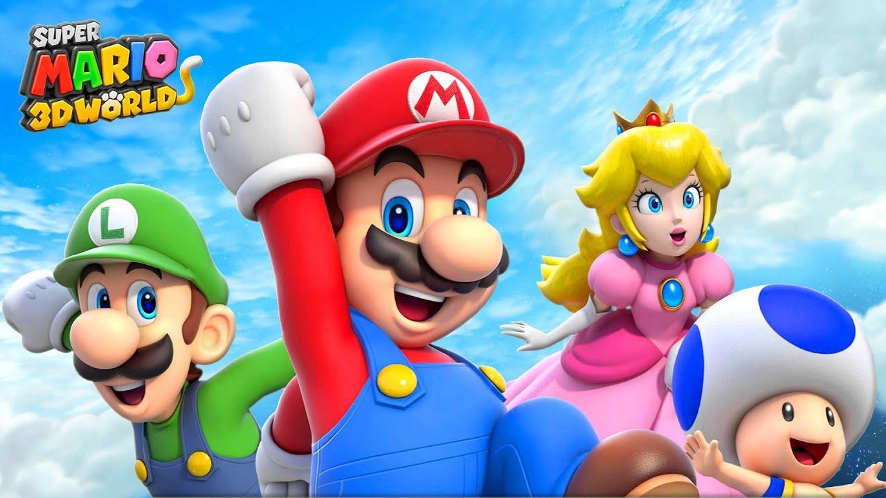 Super Mario 3d Hd Wallpaper Gatitos Kawaii Mario 3d World Ep1 Youtube