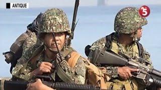PH, US marines, nagsagawa ng amphibious exercises sa Antique
