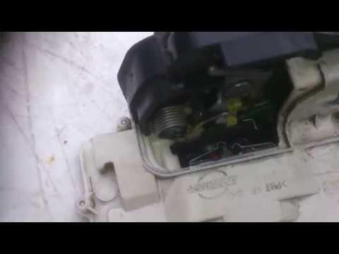 Audi A6 faulty door lock