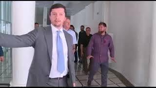 Кадыров и Патрушев открыли волейбольный комплекс в Грозном