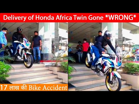 "Delivery of ""2020 Honda Africa Twin"" Gone Wrong 