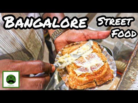 VEG Street Food In Loafer's Lane With Veggiepaaji | Bangalore Food Tour