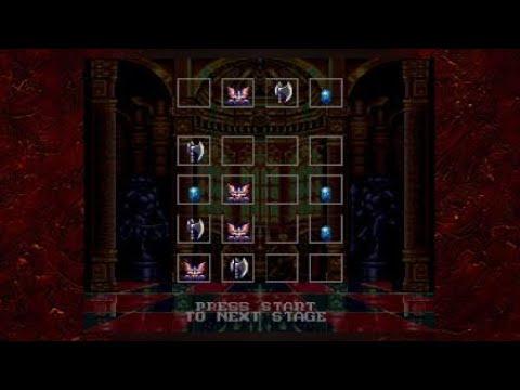 Castlevania Anniversary Bloodlines Stage 5 |