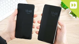 official Huawei P30 / P30 Pro Smart View Flip Cover Review