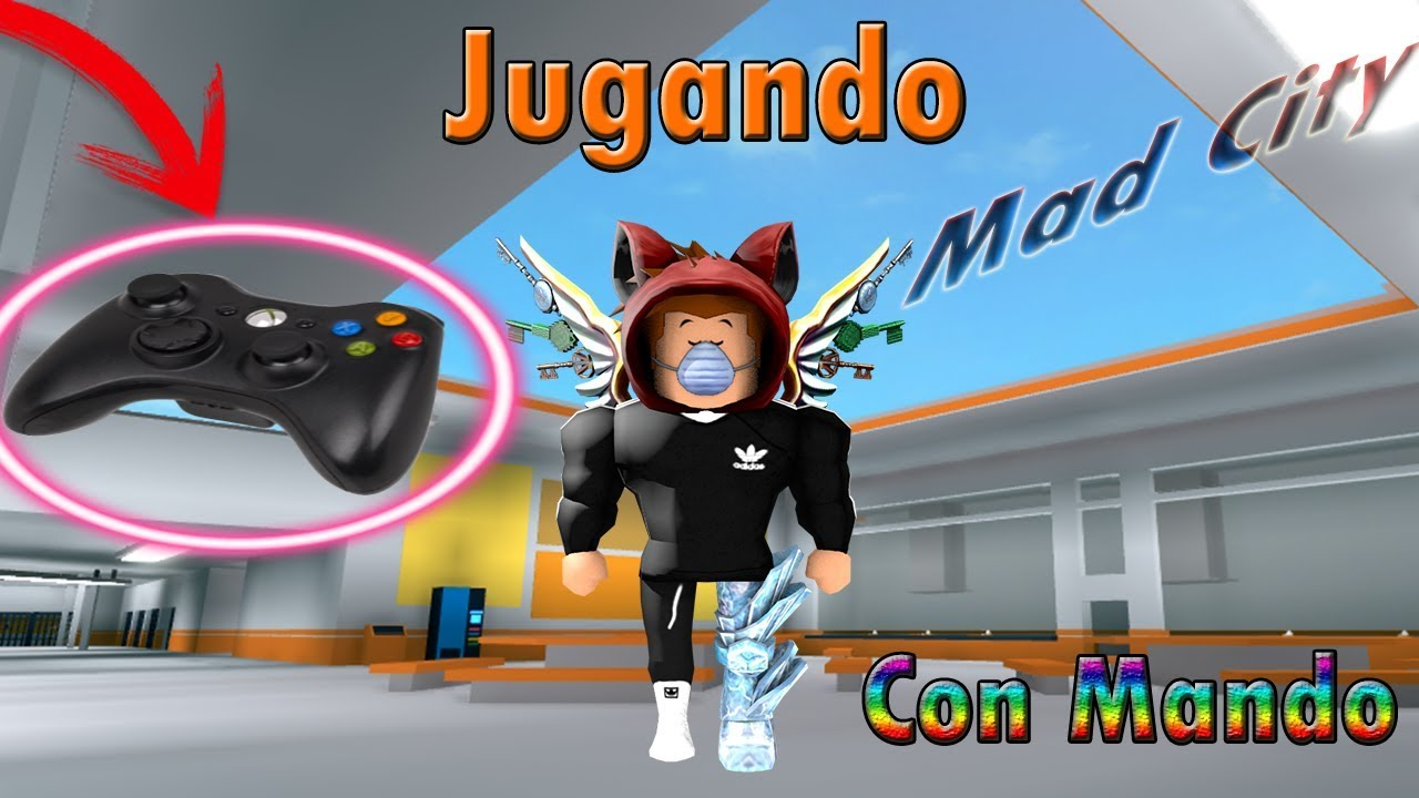 Juego Mad City Con Mando De Xbox 360 Richi121233 Roblox Yt Youtube