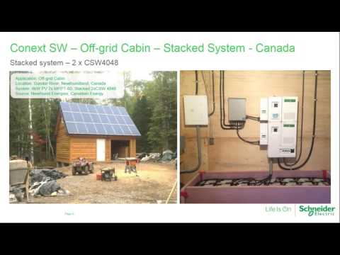 Schneider Electric's Off Grid and Self Consumption Solution with Advanced Monitoring Webinar
