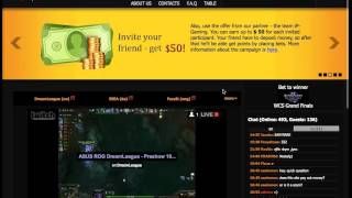 How to make bets at egamingbets.com