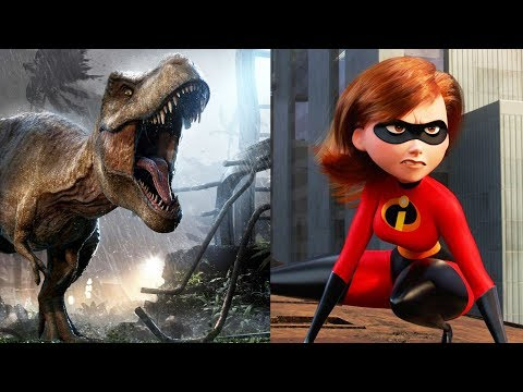 Jurassic World And Incredibles Dominate Box Office