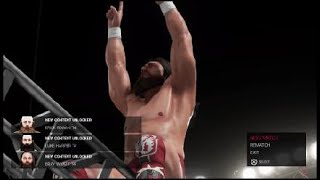 WWE 2K19 Daniel Bryan and Bray Wyatt vs The Usos in a Cage match?! Showcase Mode