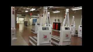 Automated Guided Vehicle program at Ohio State University's Wexner Medical Center