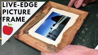 How to make a live edge picture frame screenshot 4