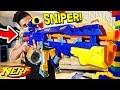 REAL NERF SNIPER RIFLE! ($300 NERF GUN)