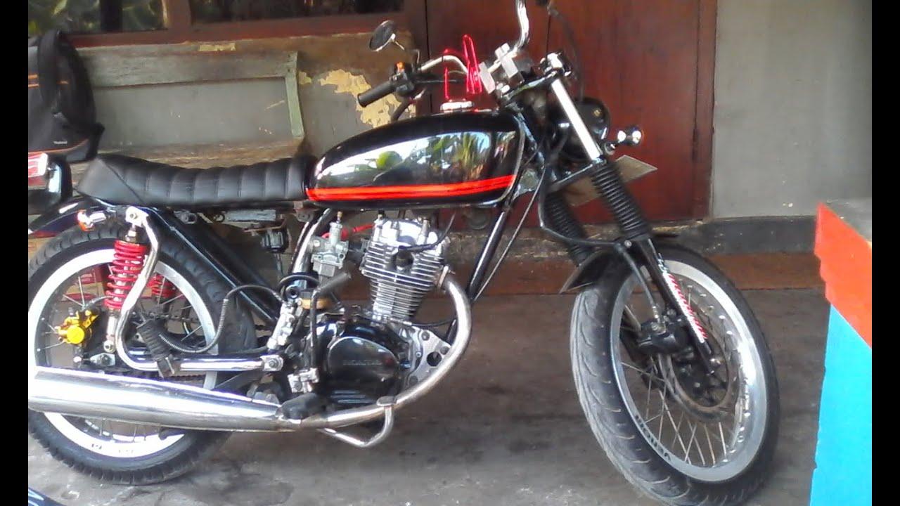 Download 75 Modifikasi Motor Cb 125cc Terbaru Dan Terlengkap Fire