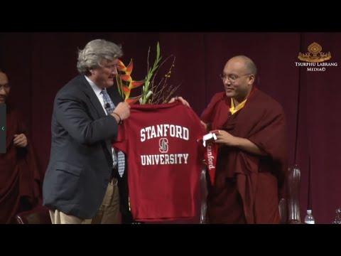Karmapa talks at Stanford University