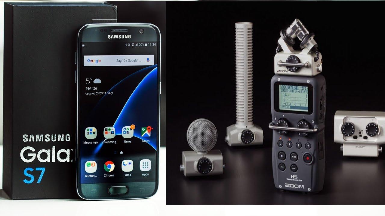 Smartphone Vs Zoom H5 - Sound Recording Comparison