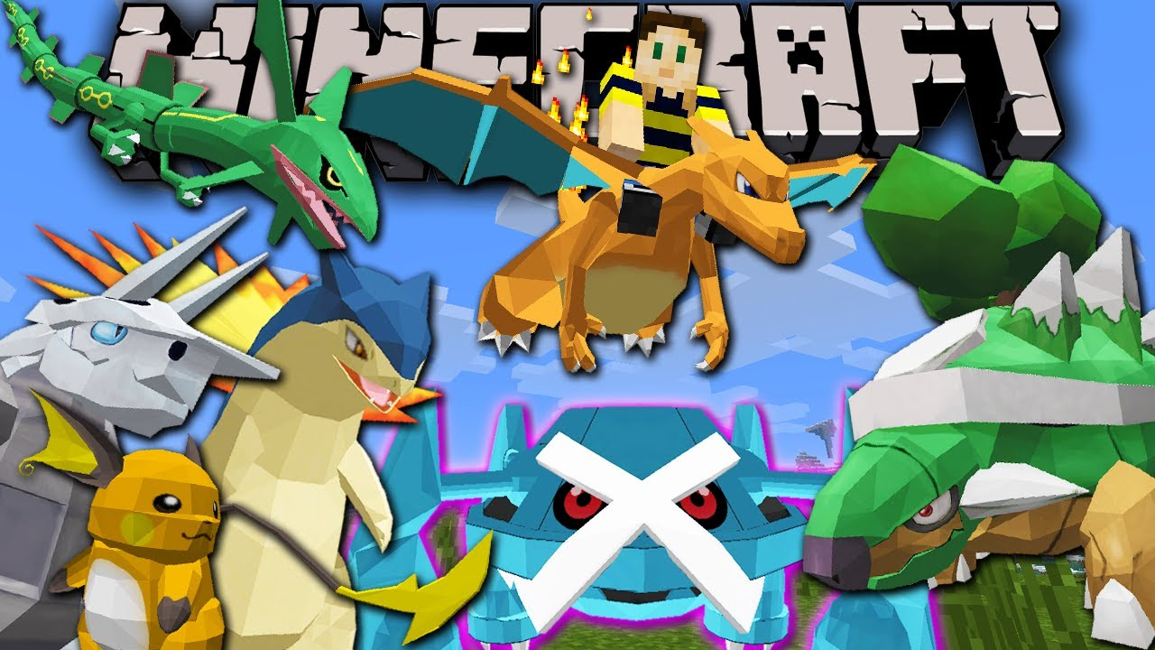 Pixelmon BIG Update! New Starters & Evolutions! Minecraft Pokemon Mod  Spotlight for 1 6 4 & 1 7 News
