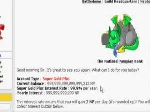 Neopets Neopoints Hack/Cheat (1,000,000+Np Per Day) (Program Included)