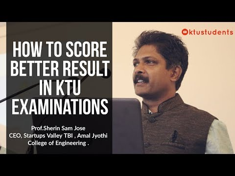 Score Better in KTU Engineering Examinations | Series Test and Final | Prof.Sherin Sam Jos