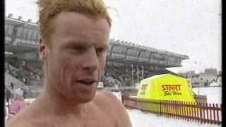 Sportsrevyen på NRK (07.03.93): Vintersport og verdenscuprenn. Syke langrennsutøvere. (Uferdig)