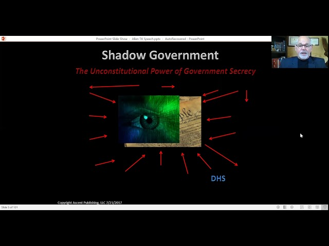 `Shadow Goverrnment Short Part 1