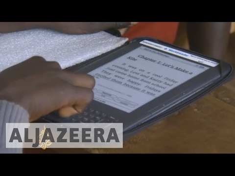 Bringing e-books to African schools