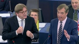 BREXIT: Farage takes savage swipe after EU's Verhofstadt compares him to COWARDLY character