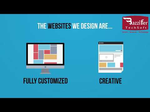 Web design   Bazzifer TechSoft Singapore Pte Ltd