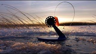Рыбалка в Сибири.  ЩУКА НА ЖЕРЛИЦЫ!  ПЕРВЫЙ ВЫЕЗД.