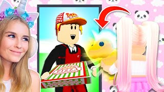 I Ordered A Pizza And TIPPED A GOLDEN PET In Adopt Me! (Roblox)