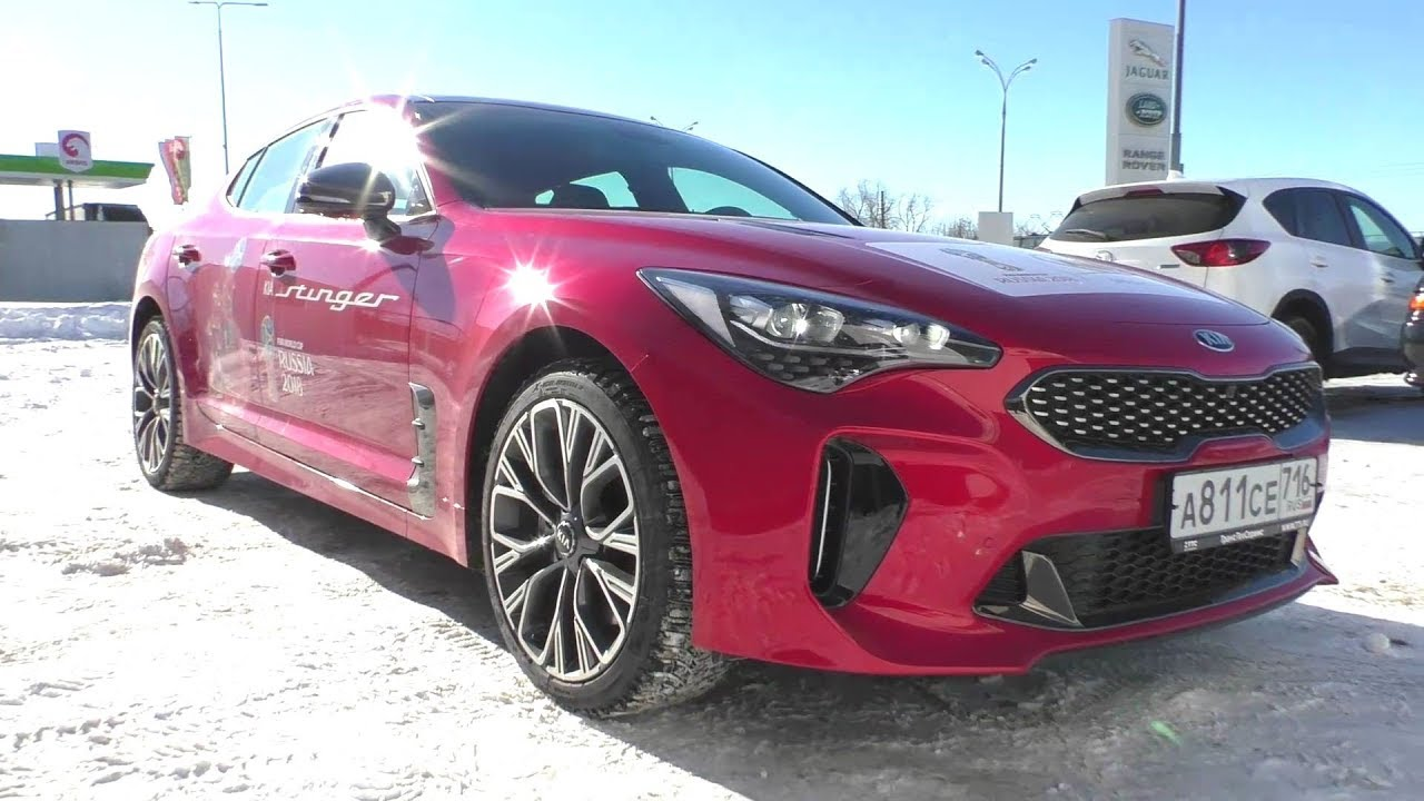 2018 Kia Stinger GT Line 2.0. Start Up, Engine, and In Depth Tour.