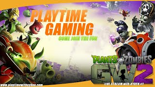 Plants Vs Zombies 2 - TDM - Playtime with Ayden - Live Stream