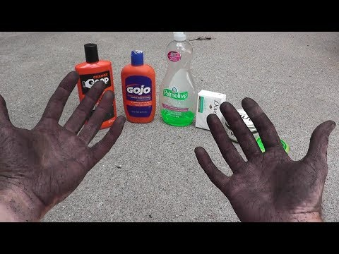 GOOP vs GOJO vs GOOD CLEAN MUD vs HAND SOAP | Hand Cleaners