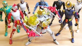 全ライダーにレモンエナジーアームズを装着!着せ替え動画 レビュー!ACアームズチェンジシリーズ12 仮面ライダーデューク 鎧武(ガイム) thumbnail