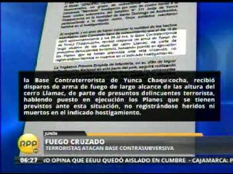HOSTIGAMIENTO A BCT DE LA PNP YUNCA JUNIN