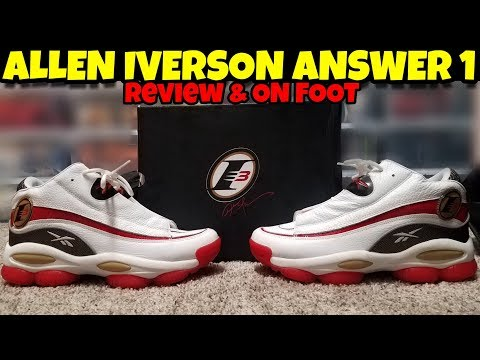 2018 Reebok Answer 1 Allen Iverson Review & On Feet!!!